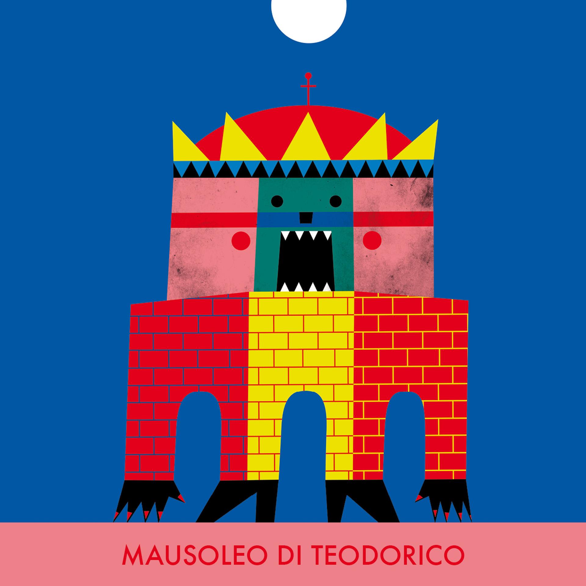 Monumostri - Mausoleo Teodorico