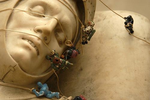 Andrea Salvatori, Gulliver, installazione per Gemini Muse 2003