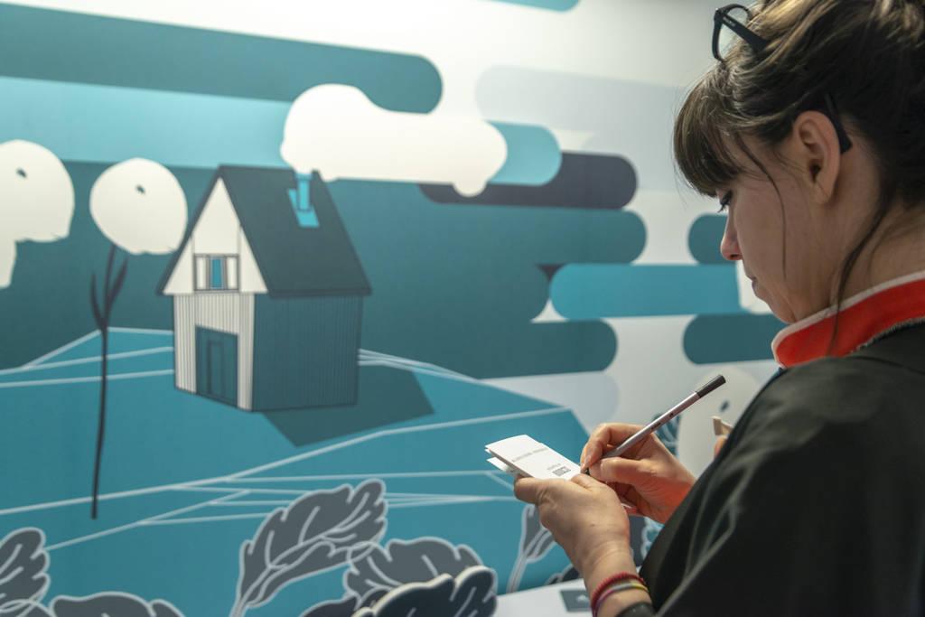Ambientha - Chiara Dattola Milan Design Week with Arctic Tundra